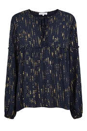 Second Female Foil Print Blouse - Product Mini Image