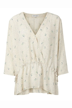 Shoptiques Product: Printed Wrap Blouse