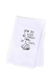 Second Nature by Hand Cake Dish Towel - Front cropped