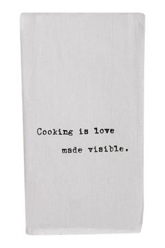 Shoptiques Product: Cooking Is Love