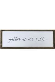 Twelve Timbers Framed Wooden Quote - Product Mini Image