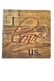 Second Nature by Hand Handmade Wooden Sign - Product Mini Image