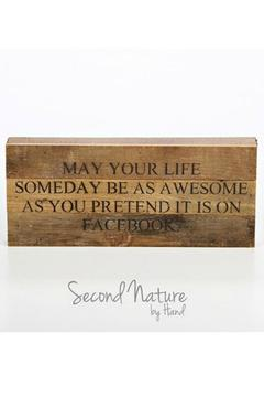 Shoptiques Product: Handmade Wooden Sign