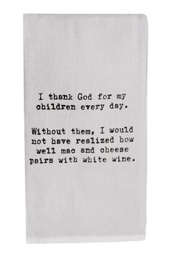 Second Nature by Hand Mac Cheese Towel - Alternate List Image