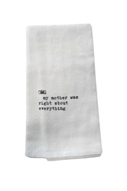 Second Nature by Hand Omg Dish Towel - Front cropped