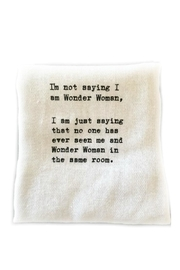 Second Nature by Hand Wonder-Woman Dish Towel - Product Mini Image