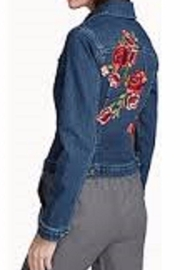 Second Yoga Jeans Embroidered Classic Jean-Jacket - Product Mini Image
