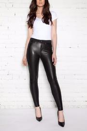 Second Yoga Jeans Skinny Vegan Leather - Product Mini Image