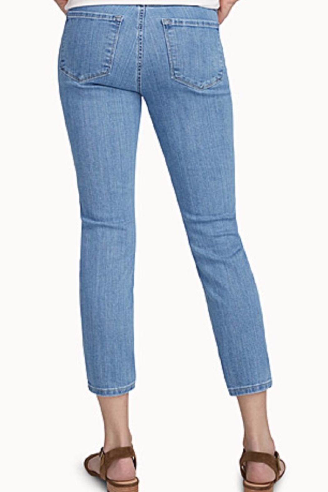 Second Yoga Jeans Highrise Ankle Embroidery - Side Cropped Image