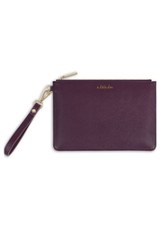 Katie Loxton SECRET MESSAGE POUCH | A LITTLE LOVE, CARRY A LITTLE LOVE WITH YOU WHEREVER YOU - Front cropped