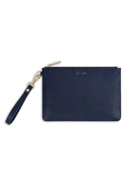 Katie Loxton SECRET MESSAGE POUCH | FREE SPIRIT, THE WORLD IS YOUR OYSTER - Product Mini Image