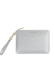 Katie Loxton SECRET MESSAGE POUCH | LIVE LOVE SPARKLE, A REMINDER TO LIVE LOVE SPARKLE EVERY DAY - Front cropped