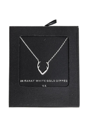 Secret Box Antler Rhinestone Necklace - Product Mini Image