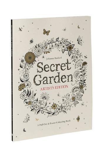 Secret Garden Artist Edition Coloring Book From Calgary By