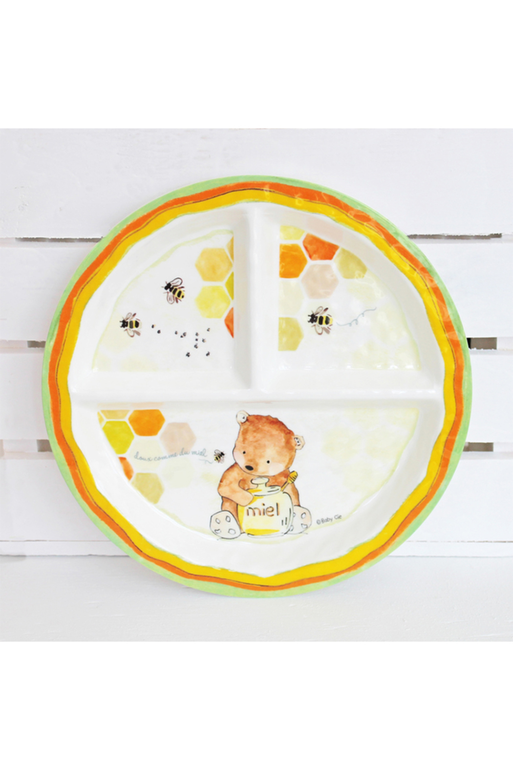 Baby Cie Section Plate - Sweet as Honey - Main Image