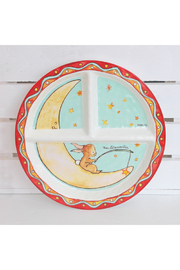 Baby Cie Section Plate - Wish on a Star - Front cropped