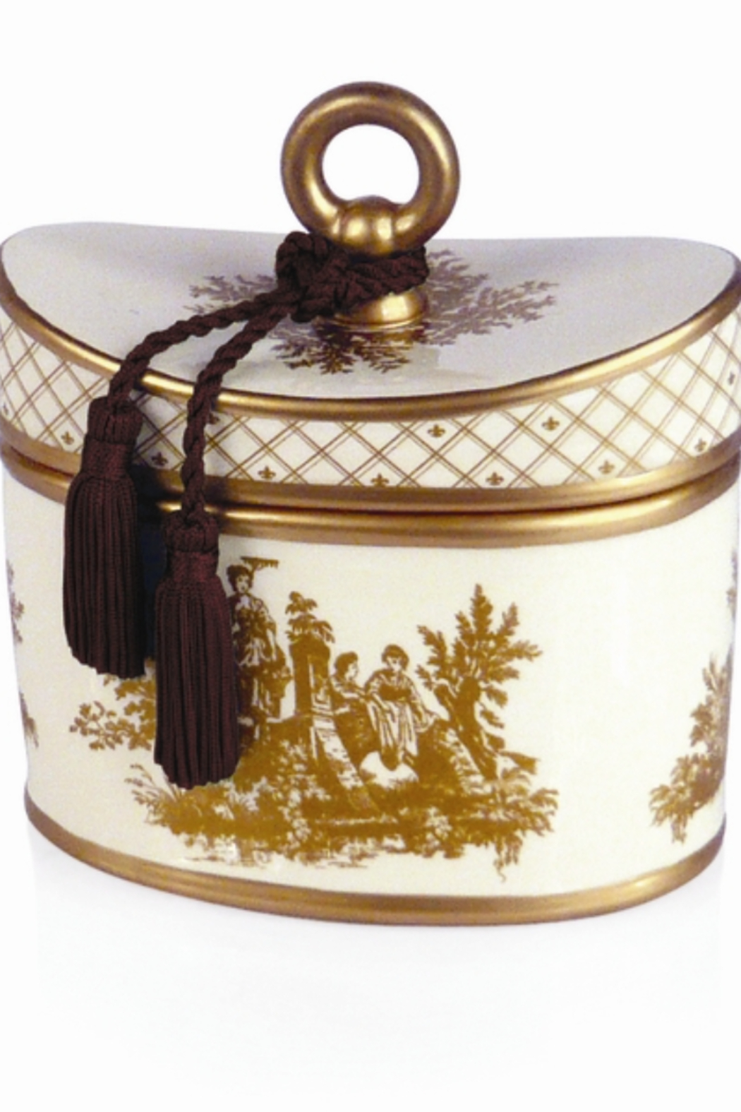 Seda France Two Wick Toile Candle - Main Image