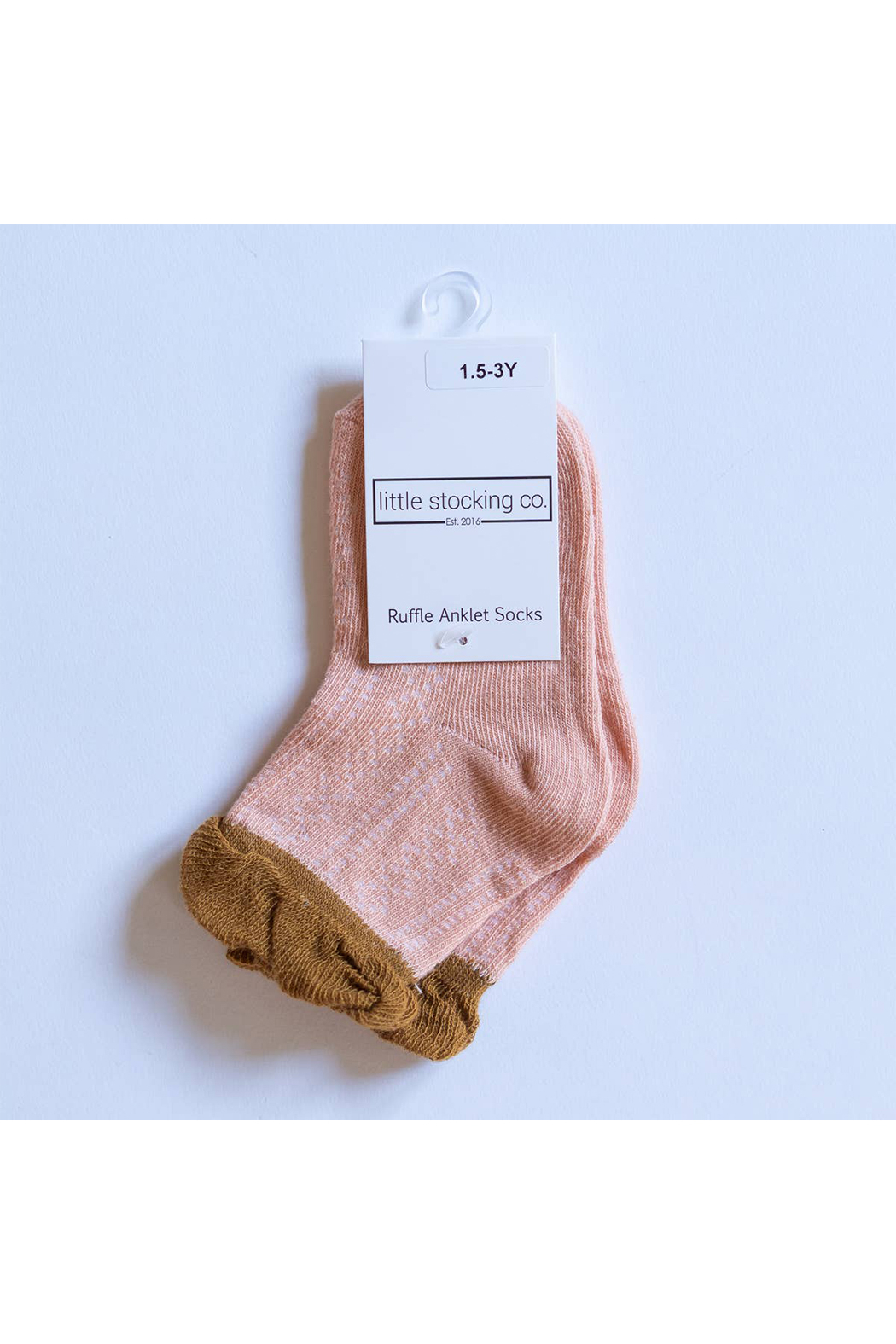 Little Stocking Co Sedona Ruffle Anklet Socks - Main Image
