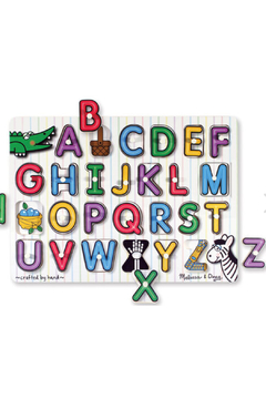 Melissa and Doug See Inside Alphabet Peg Puzzle - Alternate List Image