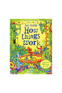 Usborne See Inside How Things Work - Alternate List Image