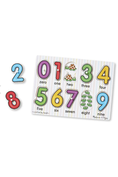 Melissa and Doug See Inside Numbers Peg Puzzle - Alternate List Image