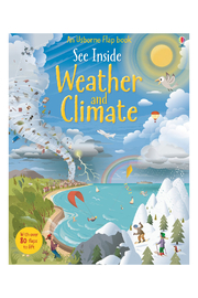 Usborne See Inside Weather And Climate - Product Mini Image