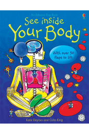 Usborne See Inside Your Body - Front cropped
