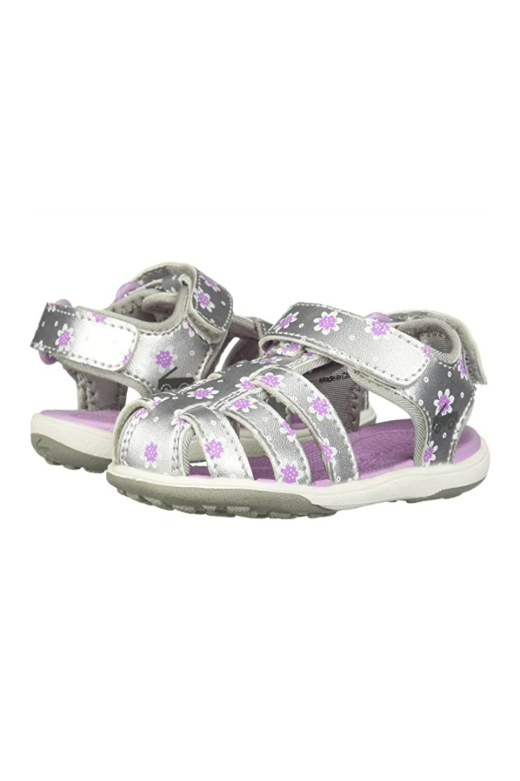 See Kai Run  Paley II in Silver/Purple - Side Cropped Image