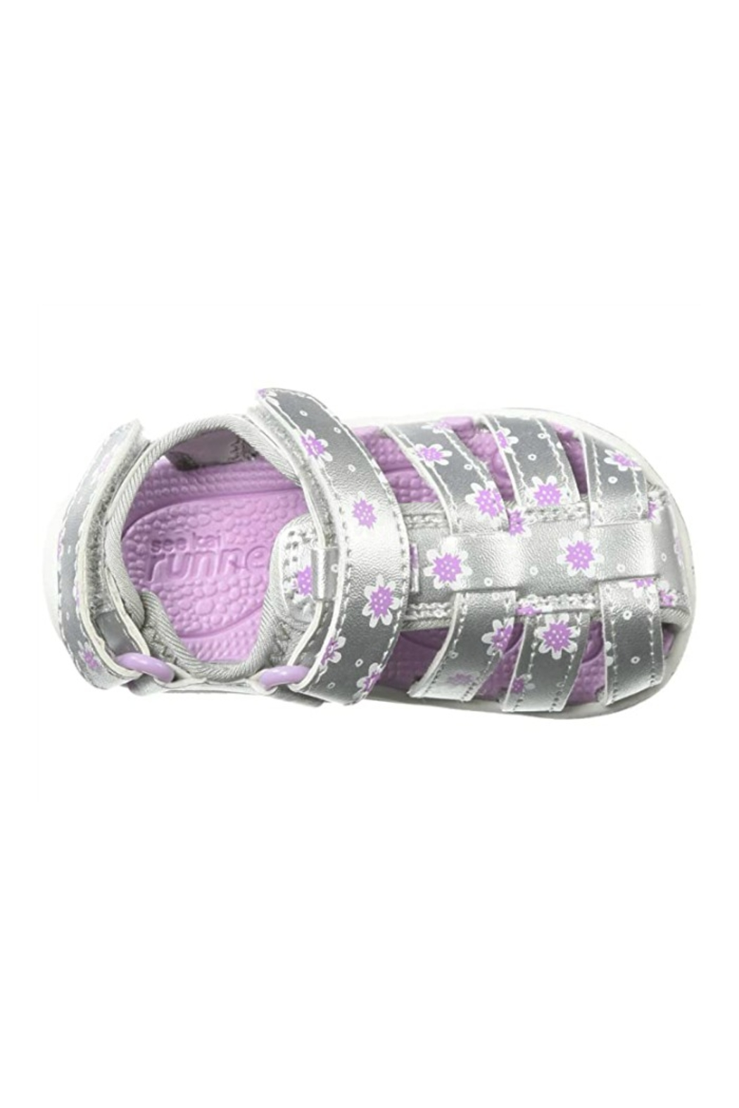 See Kai Run  Paley II in Silver/Purple - Front Full Image