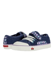 See Kai Run  Saylor in Blue Strawberries - Side cropped