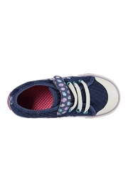 See Kai Run  Saylor in Blue Strawberries - Front full body