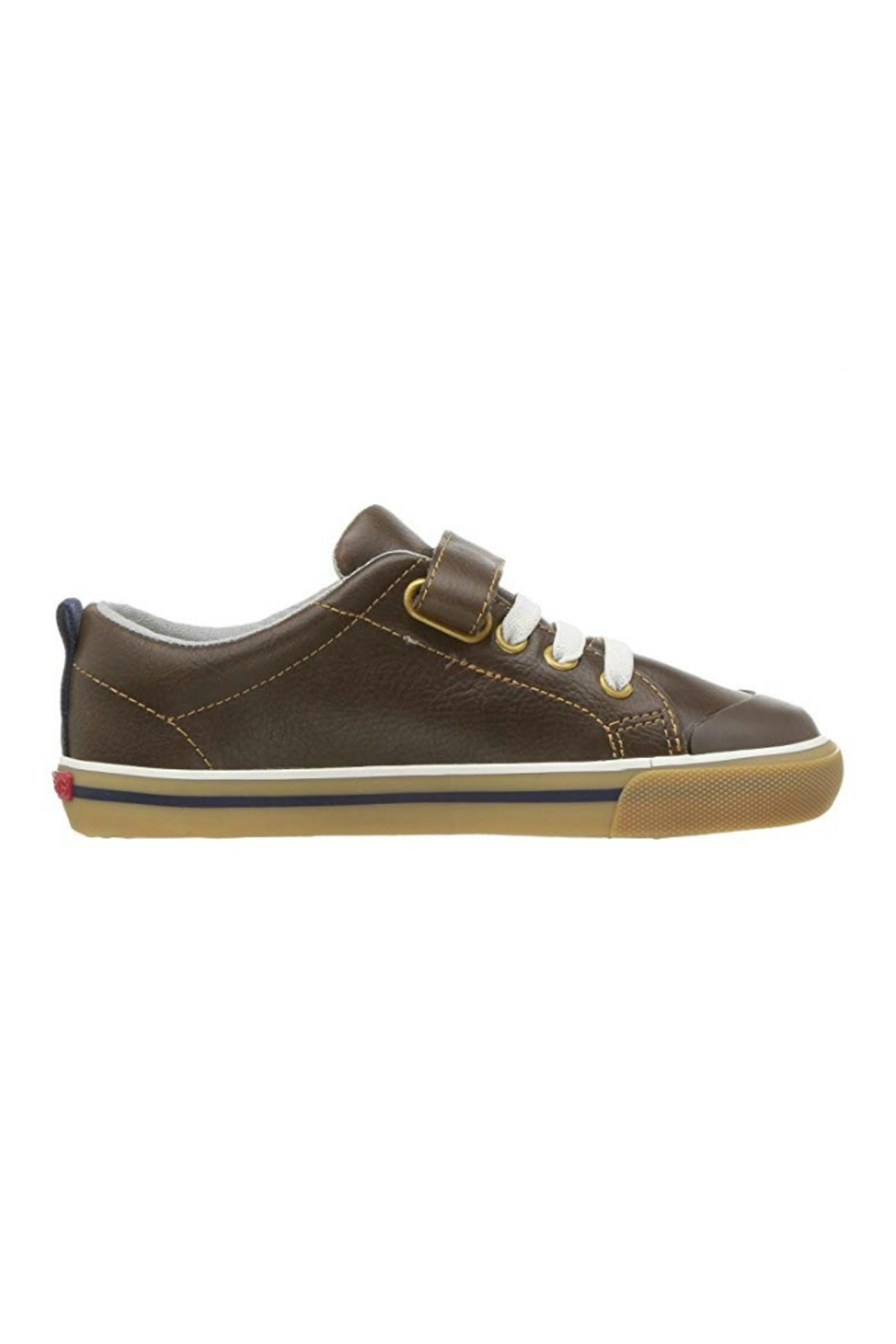 See Kai Run Stevie II in Brown Leather - Main Image