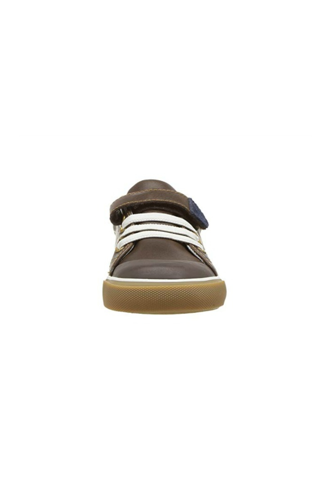See Kai Run Stevie II in Brown Leather - Front Full Image