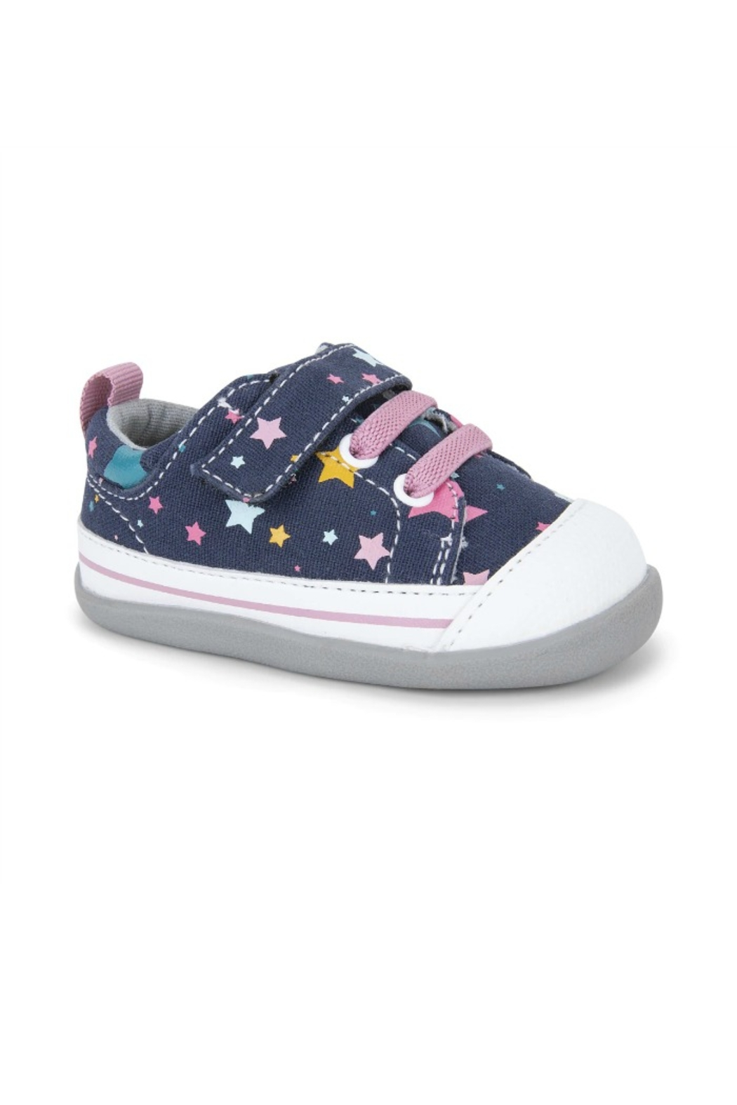 See Kai Run  Stevie II in Navy/Stars - Front Cropped Image