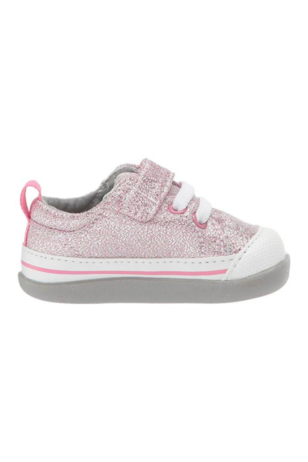 See Kai Run  Stevie II Infant in Pink Glitter - Main Image