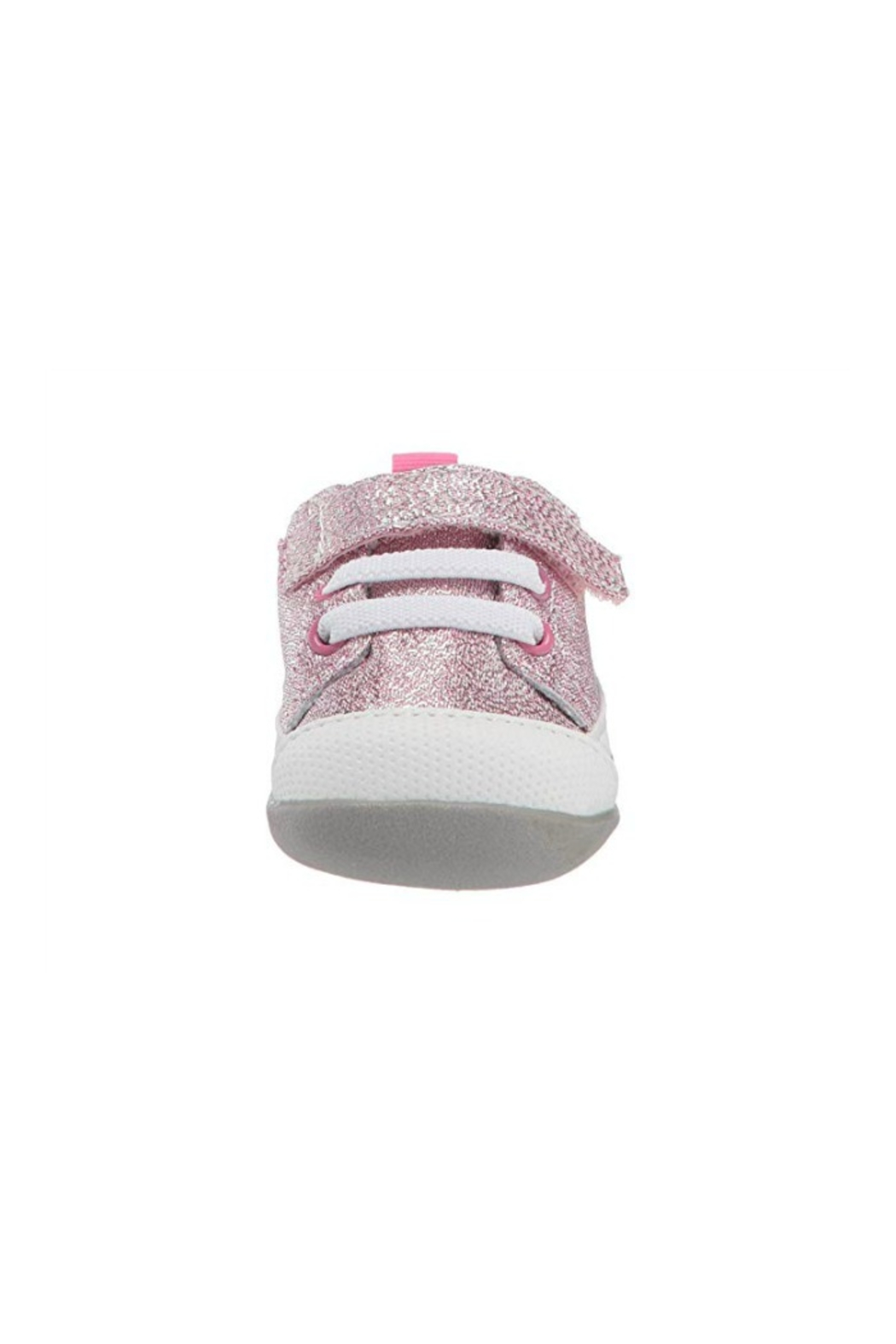 See Kai Run  Stevie II Infant in Pink Glitter - Front Full Image