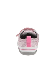 See Kai Run  Stevie II Infant in Pink Glitter - Side cropped