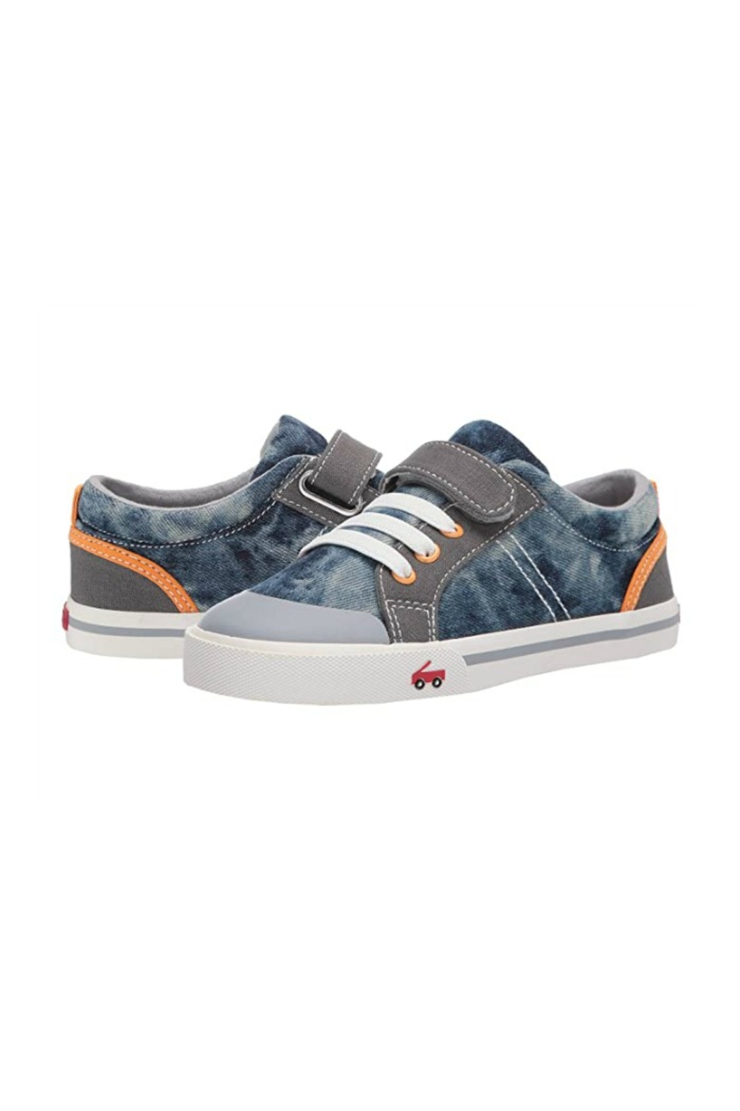 See Kai Run  Tanner in Washed Denim - Side Cropped Image