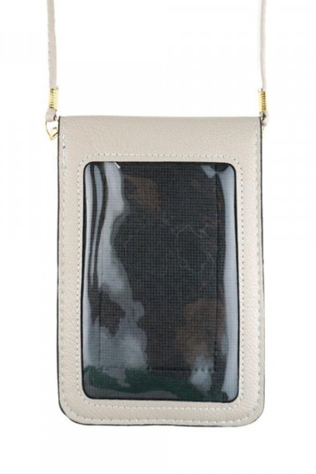 Patricia's Presents See Thru CrossBody Purse - Front Full Image