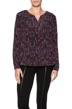 Shoptiques Product: Purple Dots Blouse
