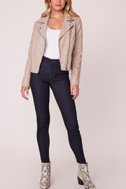 Jack by BB Dakota See Ya Later Vegan Leather Jacket - Front cropped