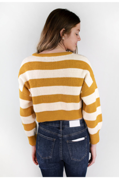 The Korner See You Soon Striped Sweater - Alternate List Image
