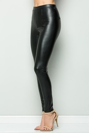 See and Be Seen Faux Leather Super Stretch Pants - Other