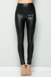 See and Be Seen Faux Leather Super Stretch Pants - Product Mini Image