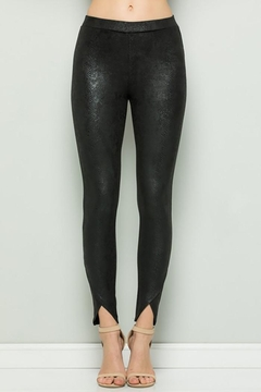 See and Be Seen Faux Snake Skin Leggings Pants - Product List Image
