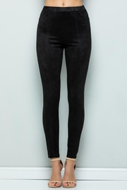 See and Be Seen Suede Leggings Pants - Product Mini Image