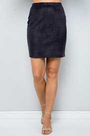 See and Be Seen Super Stretch Faux Suede Skirt - Other