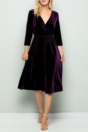 See and Be Seen Velvet Dress - Product Mini Image