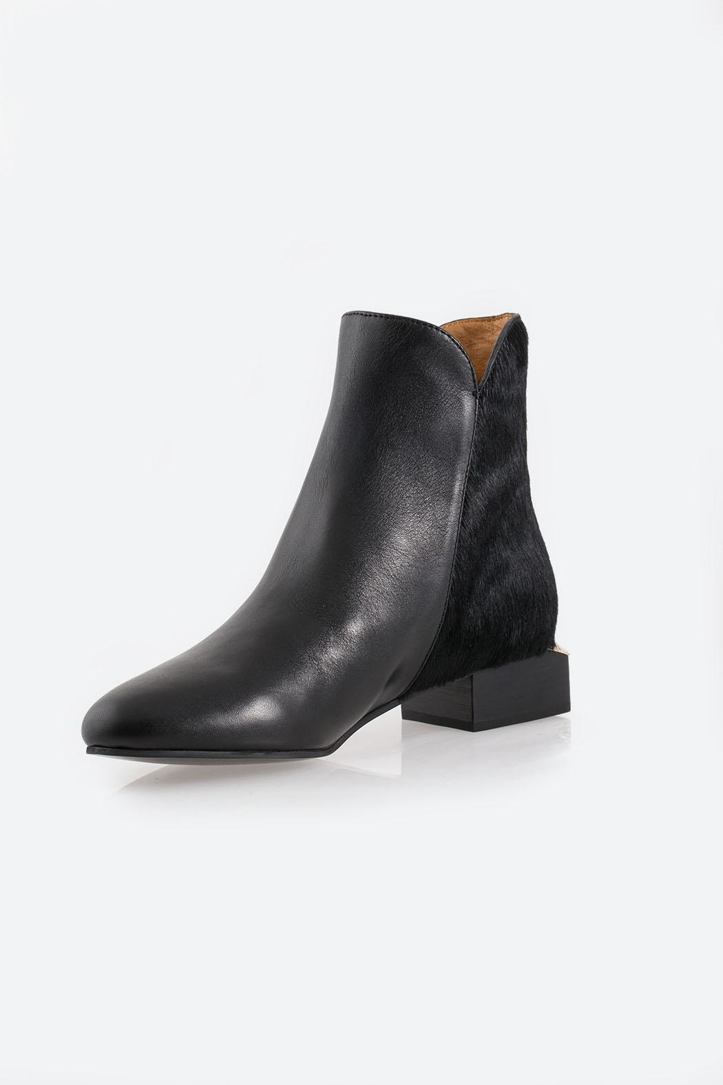 See By Chloe Black Ankle Boot - Main Image