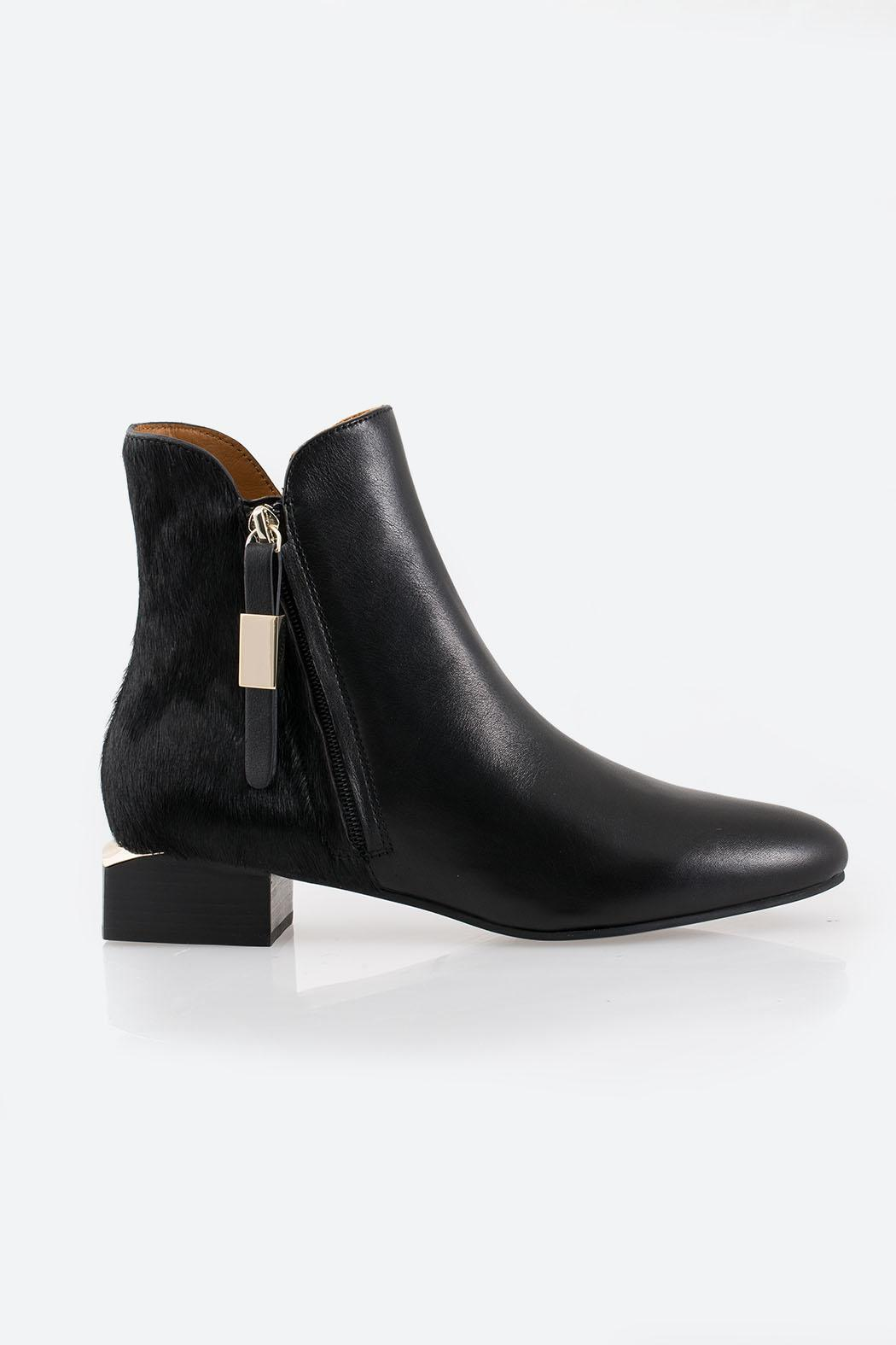See By Chloe Black Ankle Boot - Front Full Image
